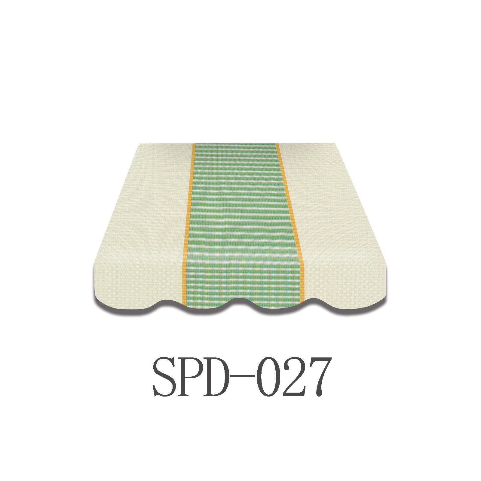 Markise Tuch Markisenbespannung inkl. Volant 3 3 3 x 2 m  Fertig genäht SPD-027 wow 8e6f76