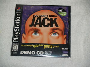 You-Don-039-t-Know-Jack-Sony-PlayStation-1-PS1-1999-demo-disc-rare-New-Sealed