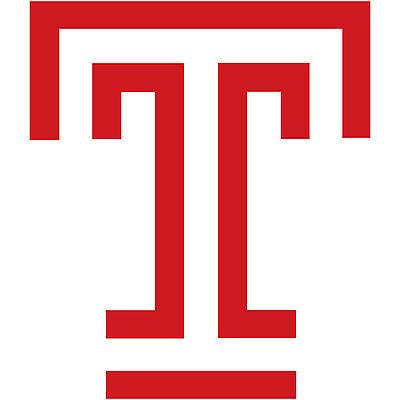 Temple University Owls NCAA Vinyl Decal Laptop Water Bottle Car Scrapbook Sticker - 009