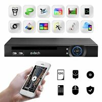 Zxtech Octagon 8 Port Poe Full Hd 1080p Realtime Hdmi Network Video Recorder Nvr