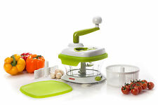 The Original MASTER SLICER Vegetable Fruits Onion Herbs Chopper Salad Spinner
