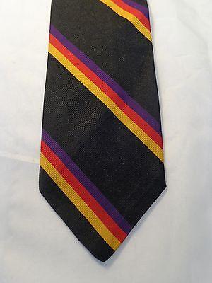 100% Vero Rooster Cravatta Uomo Nero Righe 59 X 3.5 Prestazioni Superiori