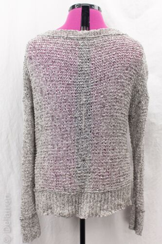 Open Eileen Sz Cotton Bateau Sweater Boxy Xl Cut Strik 100 Fisher Vguc Neck OwqXZwa