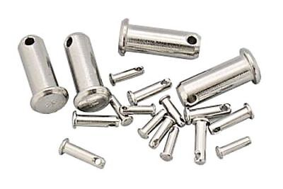 Clevis Pin Stainless Steel AISI 316 1.4401 11mm x 24mm X2 pcs