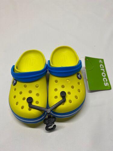 Crocs Crocband Clogs Kids Size C 9 Waterproof 204537-73E Sandals  Green//Blue