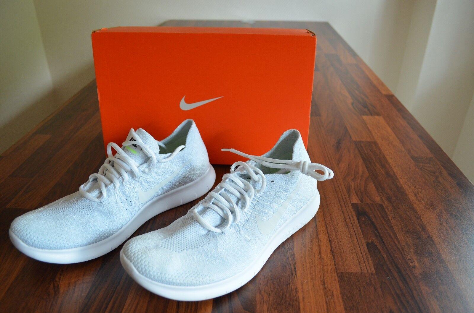 Nike Free RN Flyknit 880843 100, Größe 42,5