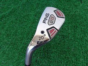 Ping-Golf-G15-20-3-Hybrid-Graphite-TFC-149H-Stiff-Flex-Shaft-NEW-LH-LEFT-HAND