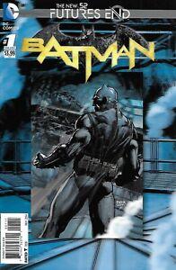Batman-Comic-1-Future-039-s-End-Lenticular-Cover-Modern-Age-First-Print-2014-Fawkes