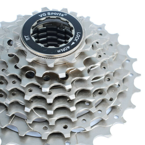 VG Sports 8 Speed Road Bike Silver Cassette fit Shimano Sram New 11-25T//26T//28T