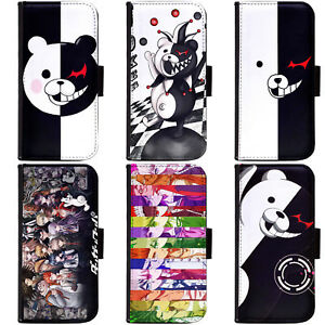 PIN-1-Anime-Danganronpa-Phone-Wallet-Flip-Case-Cover-for-Apple-Sony-1
