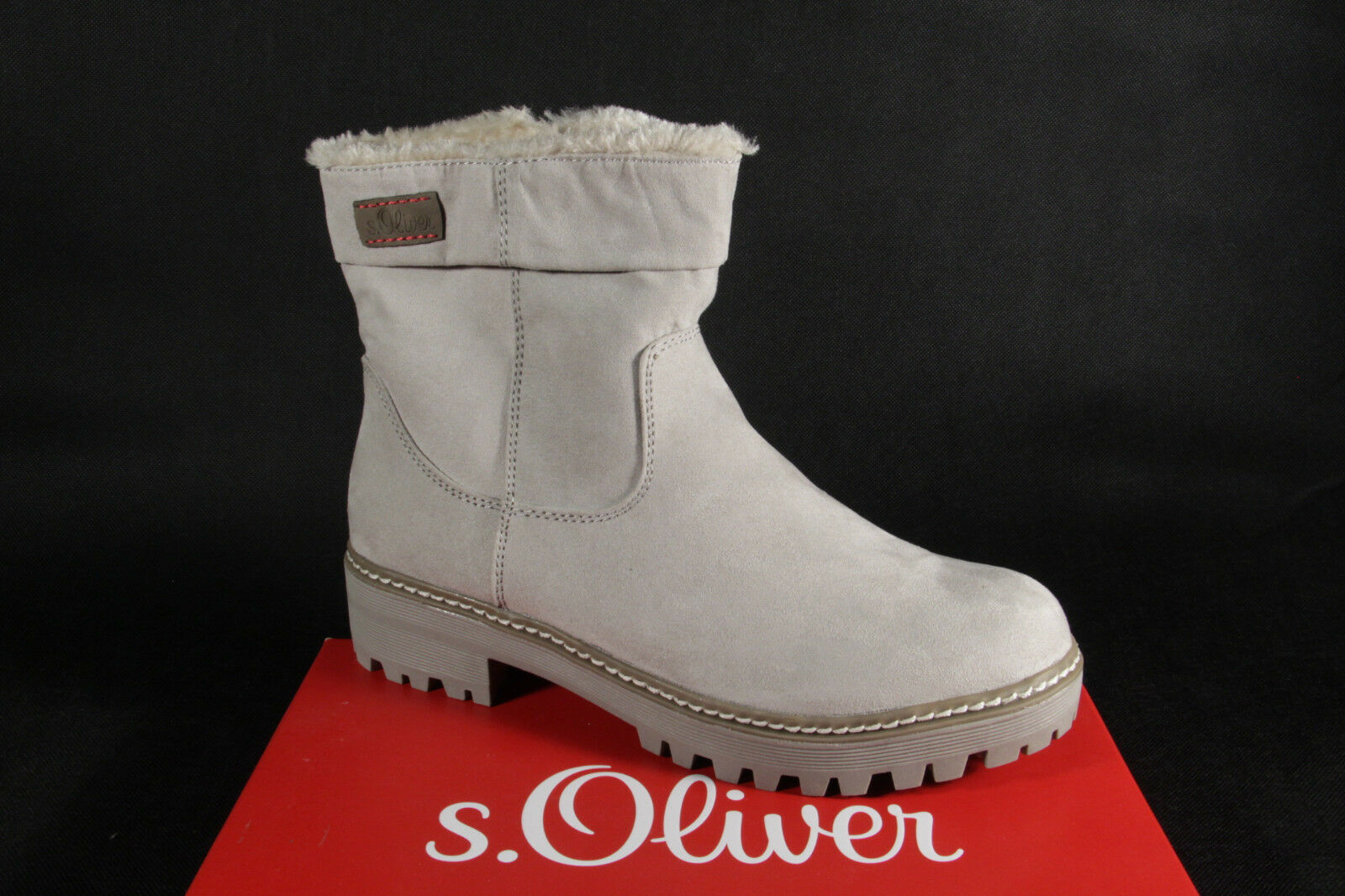 S.OLIVER Women's Boots, Ankle Boots, Boots Winter Boots Grey 26475 New