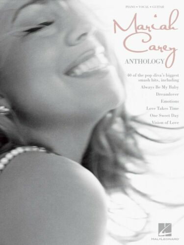 Mariah Carey Anthology Sheet Music Piano Vocal Guitar SongBook NEW 000306834