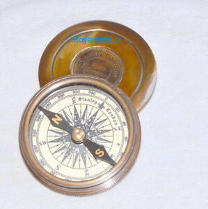 Robert Frost 1880 Poem Engraved London Compass Old Marine