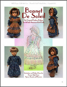 """/""""Frous Frous/"""" Fashion Pattern for American Girl dolls"""