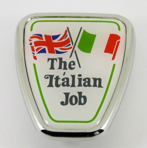 "BMC Austin part DAB101130 Classic Mini /""THE ITALIAN JOB/"" Bonnet Shield Badge"