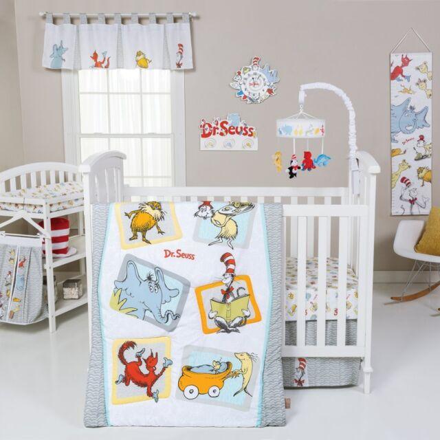 Dr. Seuss Friends 5 Piece Crib Bedding Set by Trend Lab, Multi, Standard Crib