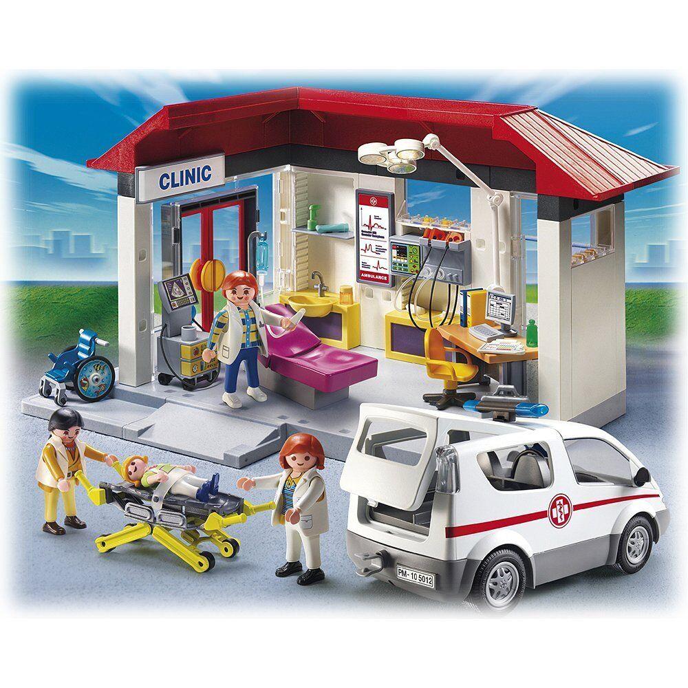 PLAYMOBIL® 5012 - Ambulanz mit Notarzt-Fahrzeug