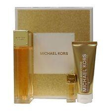 MICHAEL KORS SEXY AMBER GIFT SET WITH EAU DE PARFUM SPRAY 100 ML/3.4 FL.OZ. NIB