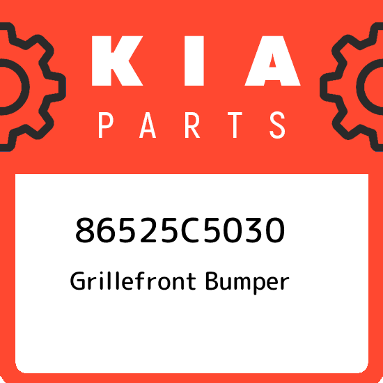 86526C5030 Kia Grillefront bumper 86526C5030 New Genuine OEM Part