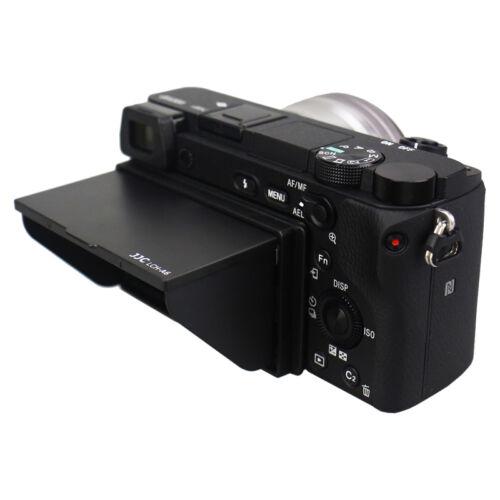 JJC POP-UP LCD pantalla campana protector cubierta para Sony A6600 A6100 A6500 A6300 A6000