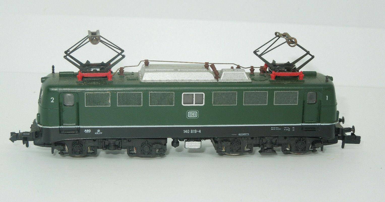 Fleischmann Spur N 7334 E-Lok BR 140 der DB grün (3)