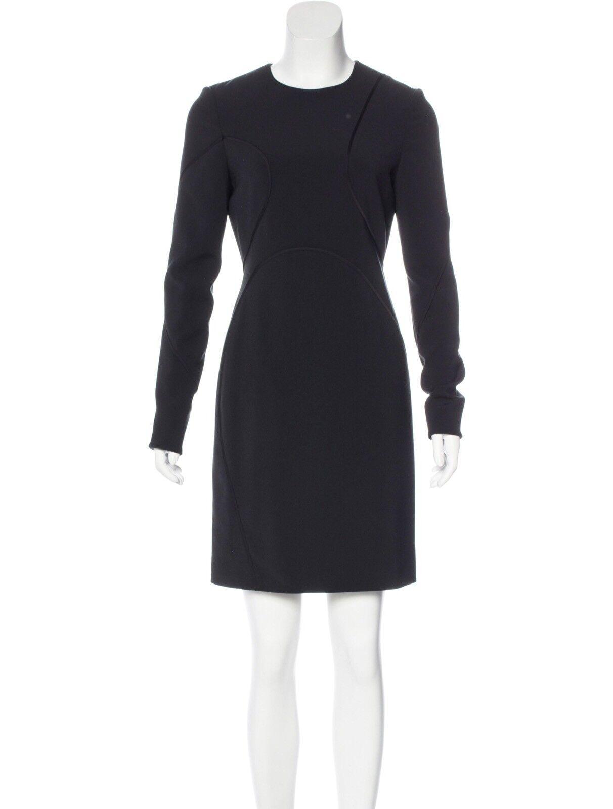 Alexander Wang Silk Trim Jersey Dress Größe 4