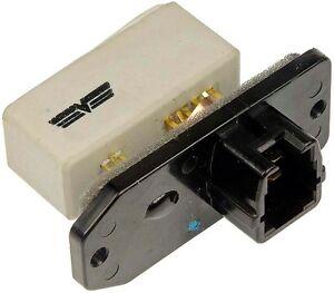 Dorman Blower Motor Resistor With Harness Repair Kit for 98-02 Toyota Corolla