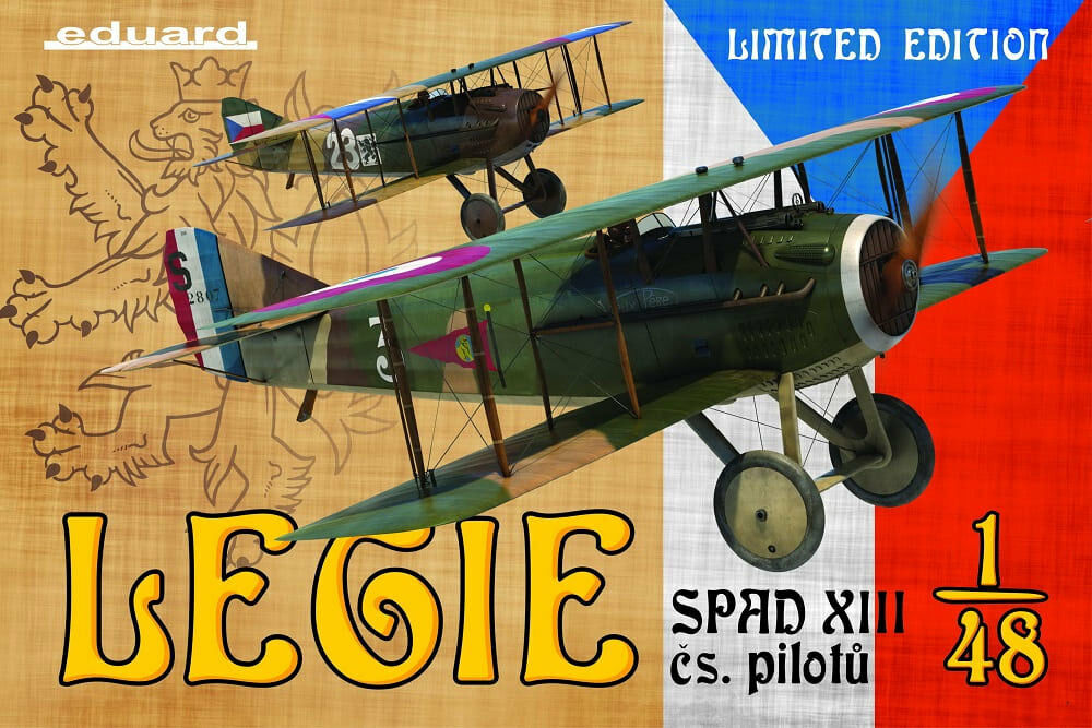 Eduard 1 48 Legie - WWI French Fighter Spad Xiii [Limited Edition]