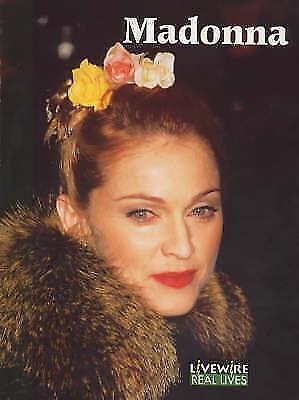 Holt, Julia, Livewire Real Lives Madonna (Livewires), Very Good Book
