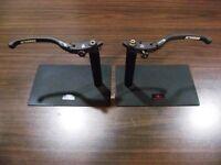 Ducati 1098 Adjustable Billet Folding Front Brake And Clutch Lever