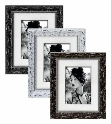 Modica Holz Bilderrahmen Braun Schwarz Weiß 15x20 18x24 20x30 30x40 Foto Rahmen