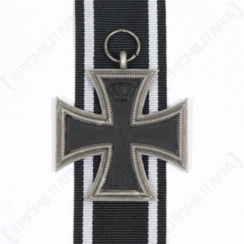AGED Repro WW2 Con Nastro Tedesca Militare 1914 CROCE DI FERRO 2A CLASSE
