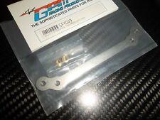 "GPM SPY049 barre de direction aluminium ""titane"" TRINITY SPYDER"