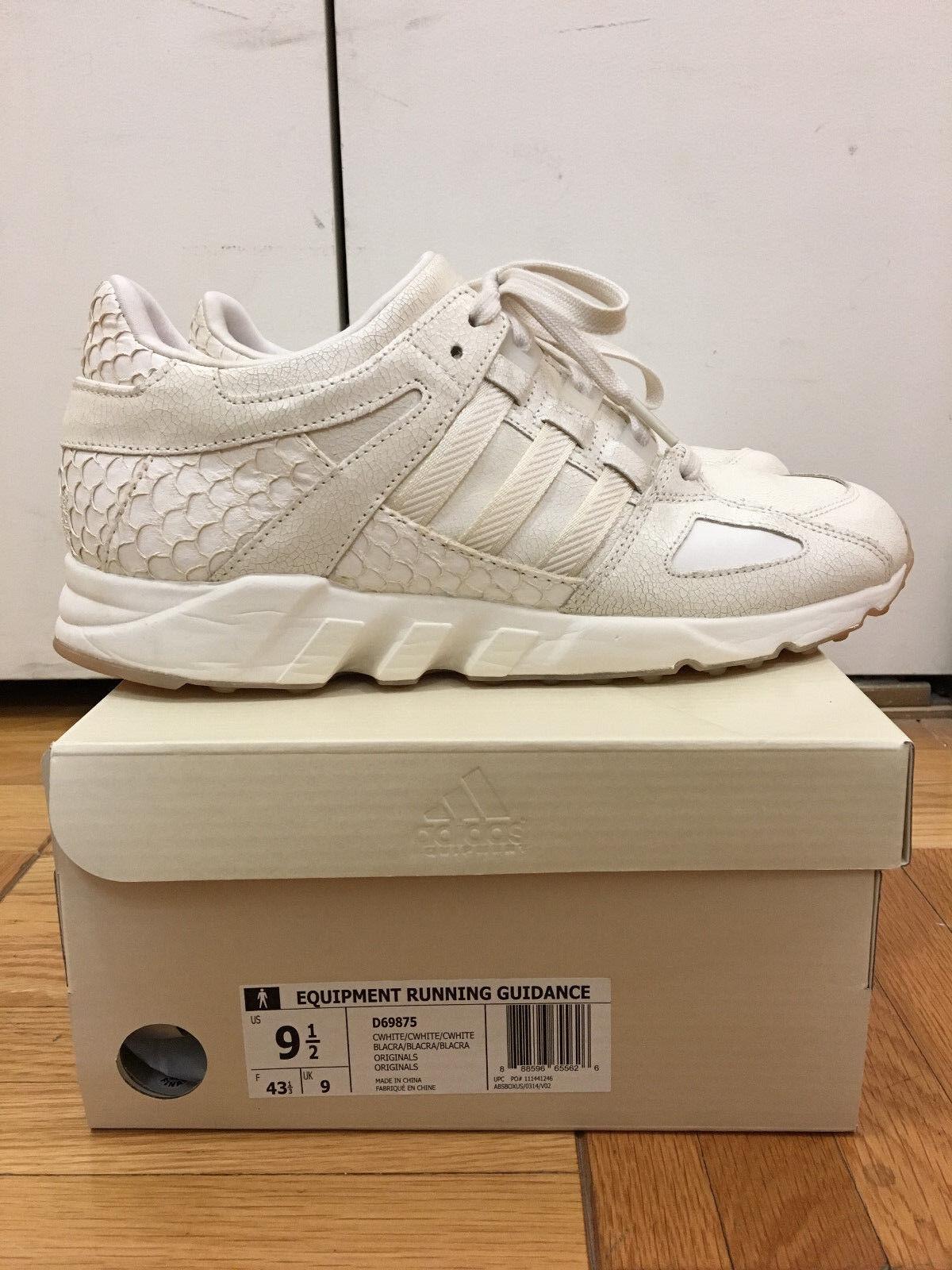 Adidas King Push EQT White size 9.5 Pusha T OG Cream White Adidas Originals