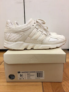 new style 71337 5d4cd Details about Adidas King Push EQT White size 9.5 Pusha T OG Cream White  Adidas Originals