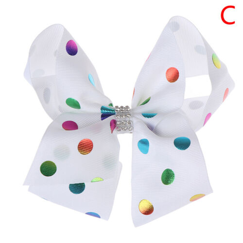 1pc 6inch big large hair bow ribbon clip headwear for women girls hair access GV