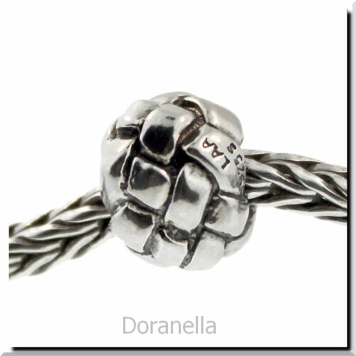 Authentic TROLLBEADS Sterling Argent 11230 tressé 0 RETIRED