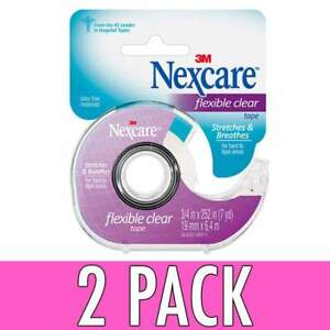 Nexcare Flexible Clear Tape 34 Inch X 7 Yards 1ea for sale
