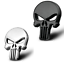 3D-Metal-Skeleton-Skull-THE-Punisher-Emblem-Sticker-Car-Bike-ATV-UTV-Truck miniature 13