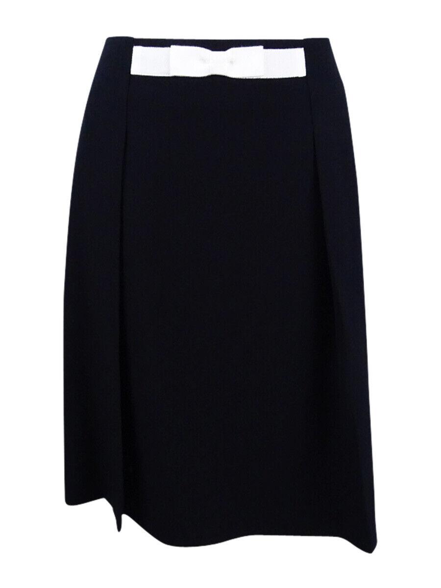 Tahari ASL Women's Bow-Waist A-Line Skirt