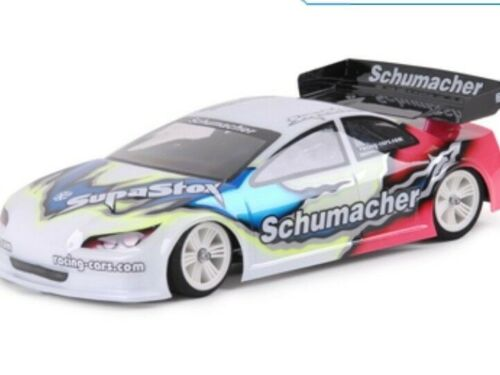 New Unpainted Schumacher SupaStox Touring Type M6 Body #G894