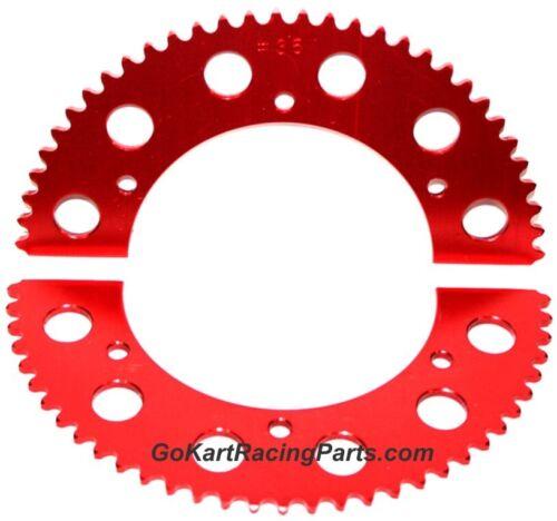 #35 Chain Sprocket Go Kart Racing 58-61 Tooth Mini Bike Gear Hub Split Sprockets