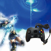 Wired Game Pad Joypad Controller For Microsoft xBox Vibration S-Type OY