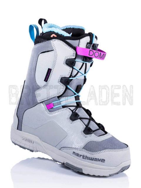 Northwave  DOMINO SL  daSie Snowboard Stiefel Schuh US 7,5 EUR 38 grau Neu