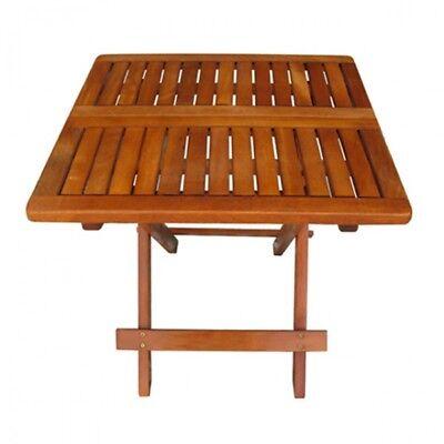 LOS ANGELES Klapptisch 50x50 Gartentisch Holztisch Balkontisch Tisch Terrasse
