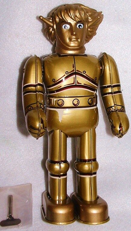 SPACE GIANTS goldAR MAGMA TIISHI BILLIKEN9 TIN WindUp LAST 1 JAPAN ROBOT NEWnBOX