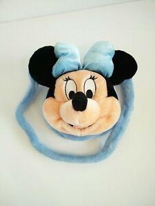 Disneyland-Minnie-Ragazze-Paris-Borsa-Blu-Mouse-Borsetta-PELUCHE-DISNEY