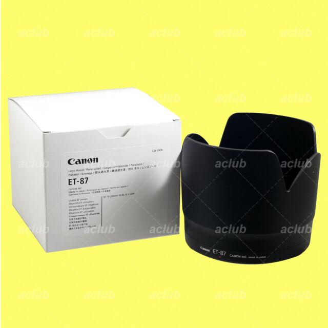 Genuine Canon ET-87 Lens Hood ET87 for EF 70-200mm f/2.8L IS II USM