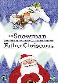 1 of 1 - The Snowman / Father Christmas (DVD, 2008) Raymond Briggs Xmas Double Bill