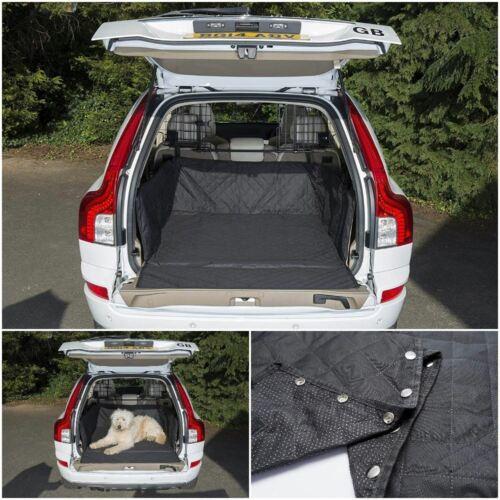 Premium Matelassé Boot Liner /& protection pare-chocs pour Fiat Panda